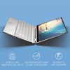 "HP Spectre X360 13-AW0013DX - Intel Core i7 – 1065G7, 8GB RAM, 32GB Optane 512GB SSD, 13.3"" Touchscreen, Natural Silver"