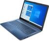 """HP 15-da0021ds Notebook - 15.6"""" Touch-Screen, Intel Pentium, 8GB RAM, 256GB SSD, Windows 10 Home, Blue"""