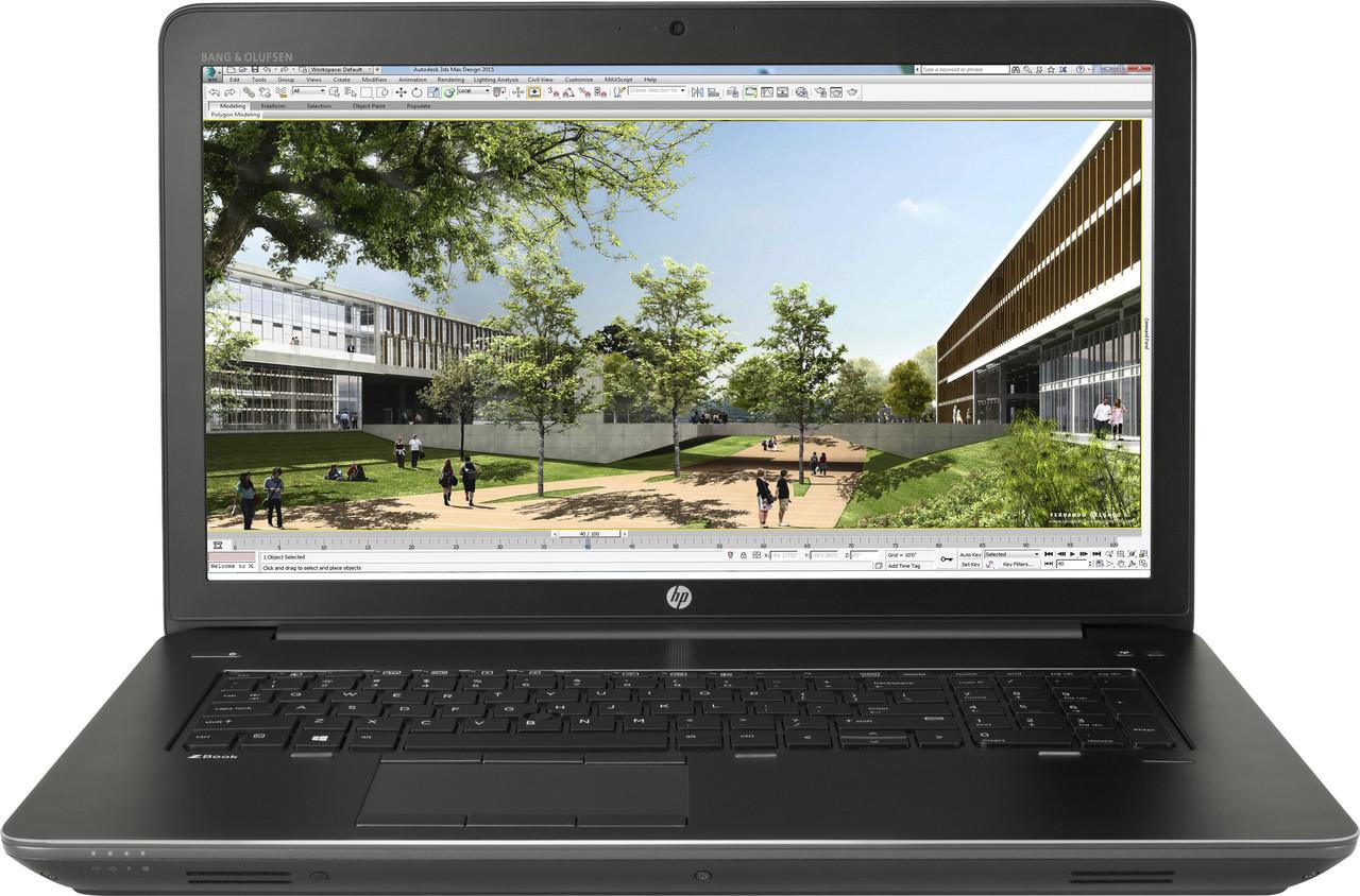 HP Zbook 17 G3 Mobile Workstation - Intel i7 - 2 60GHz, 8GB RAM, 1TB HDD,  AMD FirePro W6150M 4GB, 17 3