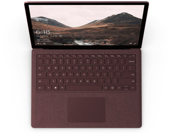 "Microsoft Surface Laptop | Intel Core i5 – 2.50GHz, 8GB RAM, 256GB SSD, 13.5"" Touchscreen, Windows 10S, Burgundy"