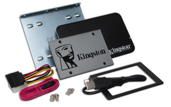 "Kingston Technology UV500 2.5"" 1.92TB Serial ATA III 3D TLC Solid State Drive Bundle"