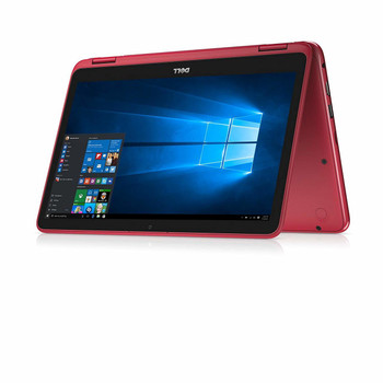 "Dell Inspiron 11-3168 – 11.6"" - 2 in1 Touch, Intel Pentium – 1.60GHz, 4GB RAM, 500GB HDD, Red"