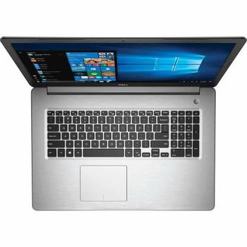 "Dell Inspiron 17-5770 - Intel Core i7 – 1.80GHz, 16GB RAM, 2TB HDD + 256GB SSD, Radeon 530 4GB, 17.3"" Display, Silver"