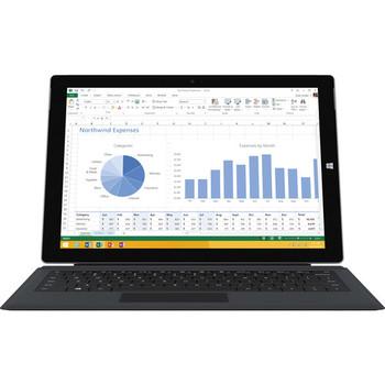 "Microsoft Surface Pro 3 - Intel Core i5, 8GB RAM, 256GB SSD, 12"" Touchscreen, Keyboard, Windows 10 Pro, Silver"