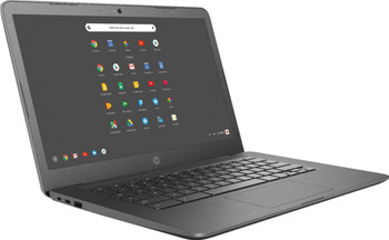 "HP Chromebook 14-ca023nr - Intel Celeron, 4GB RAM, 32GB SSD, 14.0"" Display, Gray"