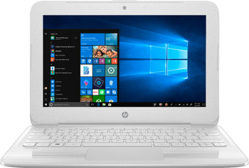 "HP Stream Laptop 11-ah112dx - Intel Celeron, 4GB RAM, 64GB SSD, 11.6"" Display, Windows 10 S, White"