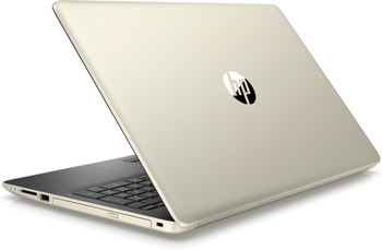 "HP Laptop 15-da0007ds - Intel Celeron, 4GB RAM, 1TB HDD, 15.6"" Display, Pale Gold"