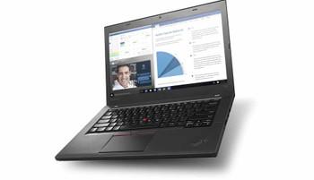 "Lenovo ThinkPad T460 Ultrabook - Intel i5 - 2.40GHz, 8GB RAM, 180GB SSD, 14"" Display, Windows 10 Pro"