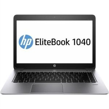 "HP EliteBook Folio 1040 G2 Notebook - Intel i5 - 2.30GHz, 4GB RAM, 256GB SSD, 14"" Display, Windows 10 Pro"