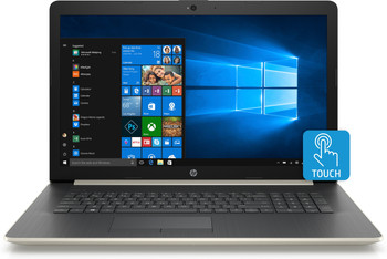 "HP Laptop 17-by0012cl - Intel i5, 12GB RAM, 1TB HDD, Radeon 530 2GB, 17.3"" Touchscreen, Gold"