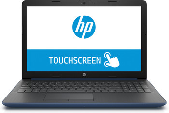 "HP Laptop 15-da0012ds - Intel Pentium, 8GB RAM, 128GB SSD, 15.6"" Touchscreen, Blue"