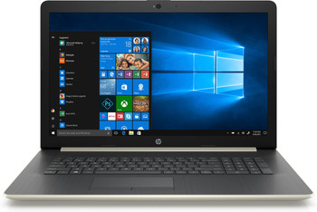 """HP Laptop 17-by0005cy - 17.3"""" Touch, Intel i3 - 2.20GHz, 8GB RAM, 1TB HDD, Gold"""