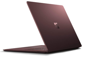 "Microsoft Surface Laptop – Intel i7 – 2.50GHz, 8GB RAM, 256GB SSD, 13.5"" Touchscreen, Windows 10 Pro, Burgundy"