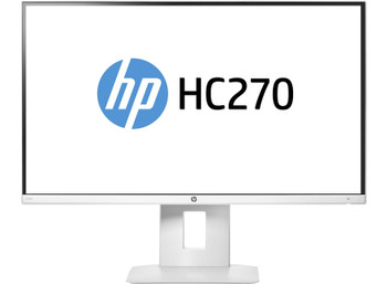 """HP HC270 Healthcare Edition (27"""") Wide Quad HD Flat White LED Display"""