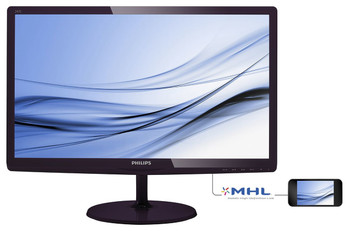 "Philips 247E6BDAD LED display 59.9 cm (23.6"") Full HD LCD Black Computer Monitor"