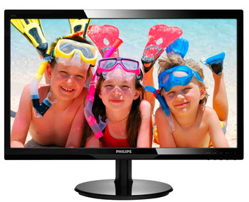 "Philips 246V5LHAB LED display 61 cm (24"") Full HD Black Computer Monitor"