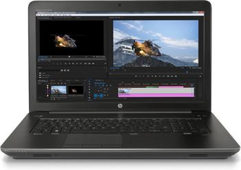"HP ZBook 17 G4 WorkStation | Intel i7 - 2.80GHz, 8GB RAM, 256GB SSD, 17.3"" Display, Windows 10 Pro"