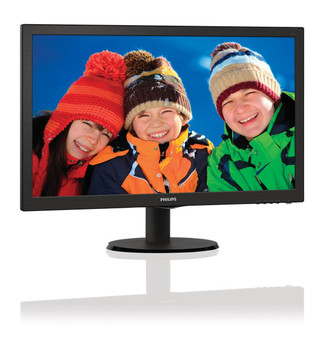 "Philips 243V5LHSB 59.9 cm (23.6"") Full HD LCD Black Computer Monitor"