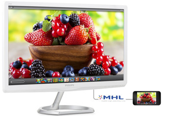 "Philips 276E6ADSS computer monitor 68.6 cm (27"") Full HD Flat White"