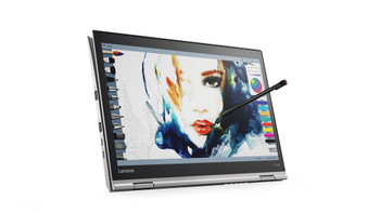 "Lenovo ThinkPad Yoga 370 - Intel i7 – 2.80GHz, 8GB RAM, 256GB SSD, 13.3"" Touchscreen + Pen, Windows 10 Pro, Silver"