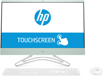 "HP Pavilion All-in-One 24-x020 -  23.8"" AIO Touch, AMD A12 - 2.80GHz, 12GB, 1TB HDD, White"