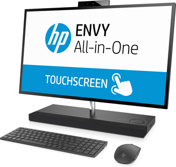 "HP ENVY 27-B235T – 27"" QHD Touch, Intel Core i7 – 2.40GHz, 16GB RAM, 2TB HDD + 16GB SSD, GTX1050 4GB"