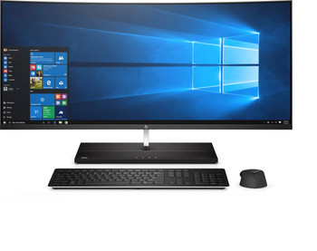 "HP Curved EliteOne 1000 G2 AIO - Intel Core i7 – 2.40GHz, 8GB RAM, 256GB SSD, RX560 4GB, 34"" QHD Display, Windows 10 Pro"