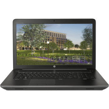 "HP Zbook 17 G4 Mobile Workstation - 17.3"" Touch, Intel i7 - 2.80GHz, 16GB RAM, 1TB HDD + 256GB SSD, Windows 10 Pro"