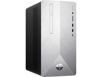 HP Pavilion Desktop 590-p0060 - Ryzen 7 - 3.00GHz, 12GB RAM, 1TB HDD, Radeon RX550 2GB