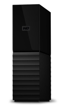 Western Digital My Book external hard drive 8TB Black With Password Protection And Auto Backup Software