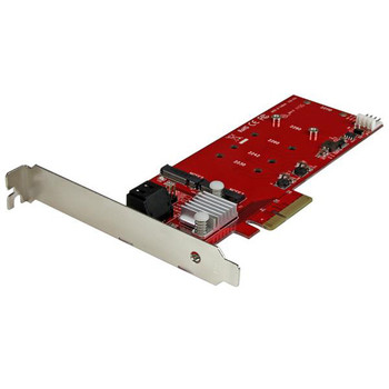 PCIe M.2 SSD RAID Controller And Two SATA Ports