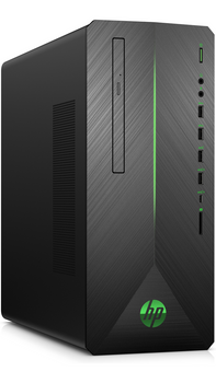 HP Pavilion Gaming Desktop 790-0010 - Intel i3 - 3.60GHz, 8GB RAM, 1TB HDD, GTX 1050 2GB