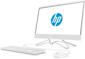 "HP All-in-One 22-c0063w - 21.5"" AIO PC, Intel Celeron 2.90GHz, 4GB RAM, 1GB HDD, White"