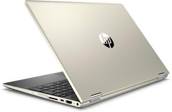 "HP Pavilion X360 – 15-CR0087CL - Intel Core i5 – 1.60GHz, 8GB RAM, 1TB HDD, 15.6"" Touchscreen, Gold"
