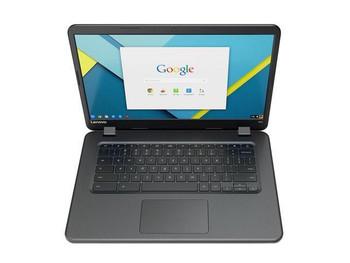 "Lenovo N42 Chromebook   Intel Celeron 1.60GHz, 4GB RAM, 16GB SSD, 14"" Touchscreen, Black"