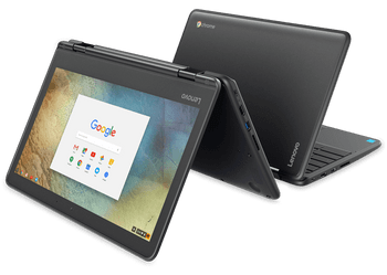 Lenovo N23 Yoga Chromebook – 2.00GHz, 4GB RAM, 32GB SSD, 11.6 Touchscreen, ZA260016US
