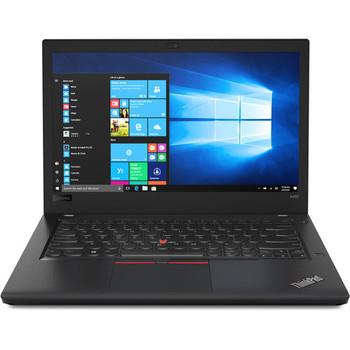 "Lenovo ThinkPad A485 Notebook - AMD Ryzen 3 - 2.00GHz, 4GB RAM, 500GB HDD, 14"" Display, Windows 10 Pro, 20MU000QU"