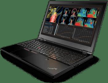 """Lenovo ThinkPad P51 – Intel i7 – 2.80GHz, 8GB RAM, 256GB SSD, Quadro M1200 4GB, 15.6"""" Display, Windows 10 Pro"""