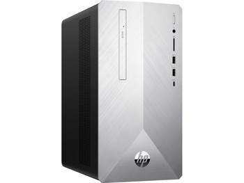 HP Pavilion Desktop 595-p0039c - Intel i5 - 2.80GHz, 8GB RAM, 16GB Optane,  1TB HDD, Radeon  RX550 2GB