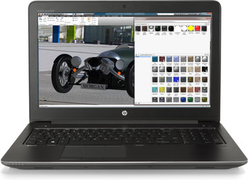 "HP ZBook 15 G4 – 15.6"" WorkStation - Intel i7 - 2.80GHz, 8GB RAM, 1TB HDD, Quadro M1200 4GB, Windows 10 Pro"
