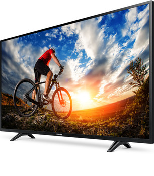 "Philips 5000 series 43PFL5703 TV (43"") 4K Ultra HD Smart TV Black"
