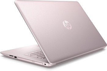 "HP Laptop 17-by0005ds - Intel N5000, 8GB RAM, 2T B HDD, 17.3"" Touchscreen, Pink"