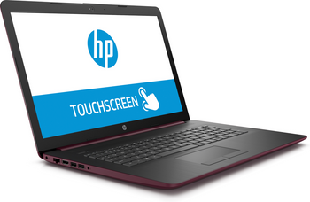 "HP Laptop 17-by0001ds - 17.3"" Touch, Intel N5000, 8GB RAM, 2TB HDD, Maroon Burgundy"