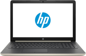 "HP 15-DB0005DS Laptop - AMD A9 – 3.10GHz, 8GB RAM, 128GB SSD, 15.6"" Touchscreen, Pale Gold"
