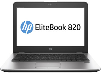 "HP EliteBook 820 G3 Notebook - Intel i5 - .30GHz, 4GB RAM, 500GB HDD, 12.5"" Display, Windows 10 Pro"