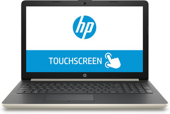 "HP Laptop 17-ca0008ds - AMD Ryzen 3 - 2.00GHz, 8GB RAM, 1TB HDD, 17.3"" Touchscreen, Pale Gold"