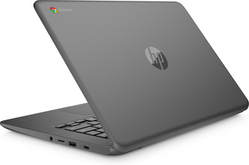 "HP Chromebook 14-ca045cl - Intel Celeron, 4GB RAM, 64GB SSD, 14"" Touchscreen, Gray"