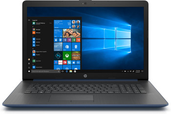 "HP Laptop 17-ca0009ds - AMD Ryzen 3 - 2.00GHz, 8GB RAM, 1TB HDD, 17.3"" Touchscreen, Twilight Blue"