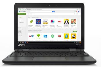 Lenovo N23 Chromebook - Intel Celeron 1.60GHz, 4GB RAM, 16GB SSD, 11.6 Touchscreen