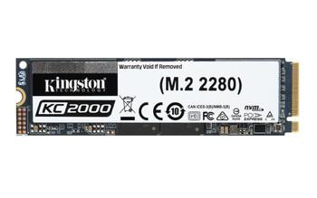 Kingston Technology KC2000 M.2 - 2 TB PCI Express 3.0 3D TLC NVMe Solid State Drive